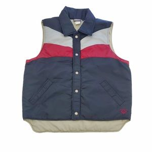 Roxy Puffer Vest with Snap Front Closure Size M